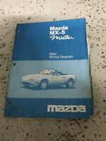 2005 Mazda Mx 5 Miota Workshop Manual Mazdaspeed Wiring Diagram Ebay