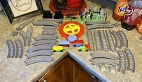 Vintage Child Guidance Railroad Train Playset Track Set