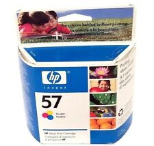 HP 57 Genuine Tri-Color Ink C6657AN - Sealed Box 2007 - Free Shipping