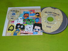 ED BANGER RECORDS - ED REC VOL III !!RARE FRENH CD PROMO !!!!!!!!!!