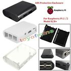 Raspberry Pi Model B+ RaspberryPi 2 Model B Black Case Cover Shell Enclosure Box
