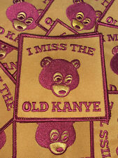I Miss The Old Kanye Patch - Kanye West backpack hip hop atcq college dropout