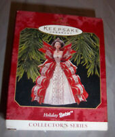Hallmark Keepsake Ornament Holiday Barbie Christmas 1997 Vintage