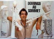 Mag 1992: PLACIDO DOMINGO_MARIE SARA_BERNARD TAPIE_SACHA DISTEL_JIM COURIER