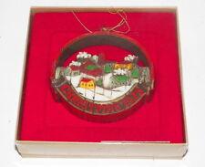 """Vintage M.I.B. Hallmark 1975 """"Peace On Earth"""" Tree Trimmer Ornament"""