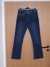 FEN Damen Jeans Jeanshose Stretch Blau Dunkelblau 40 42 44 46 48 50 52 54 neu