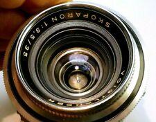 Voigtlander Skoparon 35mm f3.5 Lens for Prominent camera wide angle