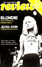 Blondie 1977 U.K. Magazine Promotional Poster / Deborah Harry / Nmt 2 Mint
