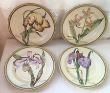 Complete Set of 4 American Atelier Botanical Stoneware - 2 sets available (694)