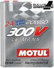 Motul 300V Le Mans 20W60 Motorenöl 10x2 Liter 12,75€/L Motorsport 20L LAGERWARE