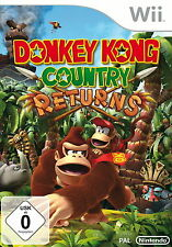 Donkey Kong Country Returns -- Nintendo Selects (Nintendo Wii, 2013, Keep Case)