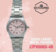 Casio Ladies' Analog Watch LTPV006D-4B LTP-V006D-4B