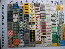 Lego bedruckte Fliesen 1x2 bedruckt, beklebt , 2 Teile zum Aussuchen für € 1,20
