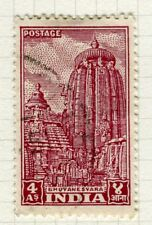 INDIA;  1949 early Pictorial issue fine used 4a. value