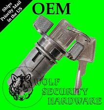 GMC C/K2500 79-86 OEM Ignition Key Switch Lock Cylinder Chrome 2 GM Keys 701398