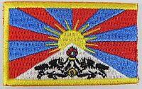 Tibet Aufnäher gestickt,Flagge Fahne,Patch,Aufbügler,6,5cm,neu