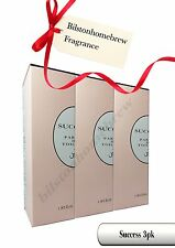 Milton Lloyd Success  50ml Parfum de Toilette spray X3