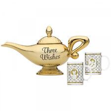 Disney Aladdin Lampe et Verres (Lot de 2) - Neuf