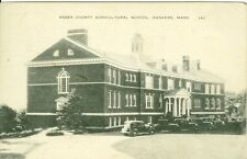 Danvers, MA The Essex County Agricultural School  1937