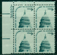 SCOTT # 1591 PLATE BLOCK, MINT, OG, NH, GREAT PRICE!