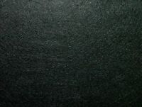 10 Yrd Black Baize / Felt Craft Fabric Card Poker Table