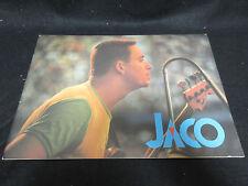Jaco Pastorius Word of Mouth Band 1983 Japan Tour Book Concert Program Al Foster