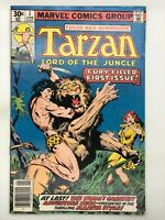 TARZAN #1 MARVEL 1977 BRONZE AGE COMIC BOOK LORD OF THE JUNGLE!