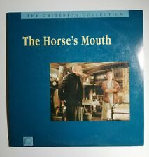 LASERDISC (LD)  THE HORSE'S MOUTH - ALEC GUINNESS - CRITERION COLLECTION