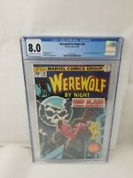 Werewolf By Night #30 CGC 8.0 VF Marvel Comics 1975 Topaz & Dr Glitternight
