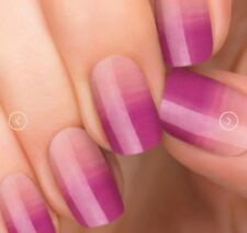 [INCOCO] Real Nail Polish Applique 16 Double-Ended Strips #Honeymoon(clear)