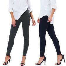 Pantalone Donna Leggings Pantacollant Fuseaux Taglia Unica Leggins K01P