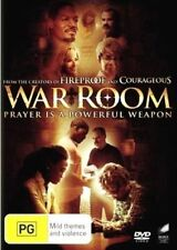 War Room DVD An INSPIRING MOVIE RELIGIOUS FAITH HOPE LOVE BRAND NEW RELEASE R4