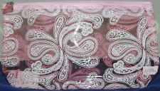 New/Sealed- Avon- Pink Paisley Cosmetic Case Lot#K64
