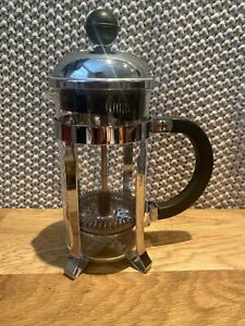 Bodum Cafetiere Chrome 1 Cup Coffee Maker