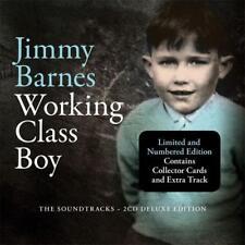JIMMY BARNES WORKING CLASS BOY Soundtracks 2CD DIGIPAK NEW plus autographed card