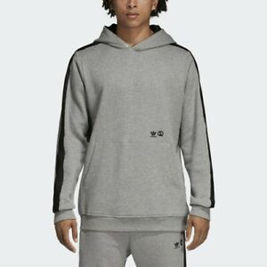adidas x United Arrows & Sons Pullover Hoody Sizes XS-XXL Grey RRP £150 WANTO