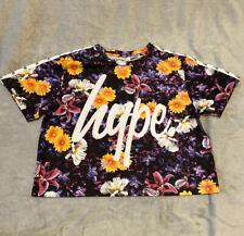Hype Crop Top T Shirt Size 12
