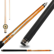 ZOKUE Pool Cue Stick Technology 10 Pieces in 1 Laminated Low Deflection Shaft