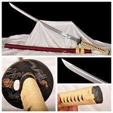103'CM JAPANESE FOLDED STEEL SAMURAI KATANA SWORD RAZOR SHARP BATTLE READY #2185