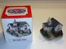 Americana Liberty Falls Hand Painted Collection Ah196 First Prairie Church