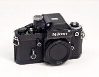 Nikon F2 Camera Body Black #77773106 W/ DP-1 Finder TESTED!!!