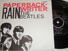 "7"" - Beatles paperback writer & Rain-Dutch 1966 Center # 2558"