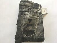 Guess Women's Britttney Low Rise Skinny Jeans Max Stretch Denim Size 27