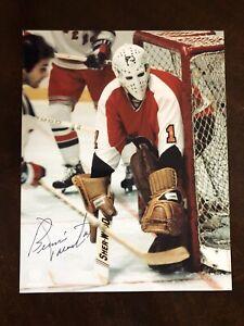 Bernie Parent AUTO 8x10 Philadelphia Flyers Great Condition