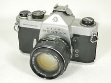 Pentax Spotmatic 35mm SLR Camera w/ Super Takumar 50mm f1.4 Lens