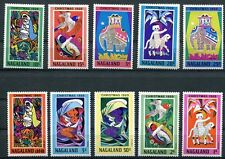 NAGALAND 1969 CHRISTMAS PAINTINGS SET OF 10 COMPLETE!