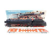 CI37-2 # Märklin H0 / AC 3047 Dampflokomotive DB Télex Fumée, Œillet Cassé + Box