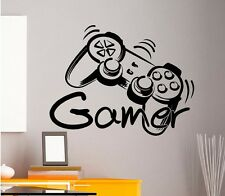 Gamer Controller Wandtattoo Wallpaper Wand Schmuck 57 x 74 cm Wandbild