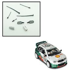 Scalextric W9029 Skoda Fabia WRC Wipers Aerials Wing Mirrors Wipers Vent Exhaust