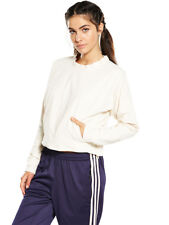 adidas Athletics Cocoon Sweat Top in Linen Size 12-14